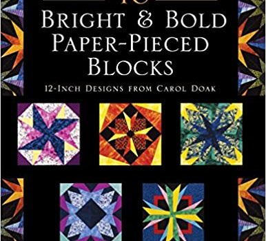 40 BRIGHT AND BOLD PAPER-PIECED BLOCKS