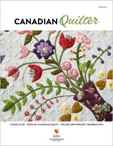 Canadian Quilter – Spring 2021