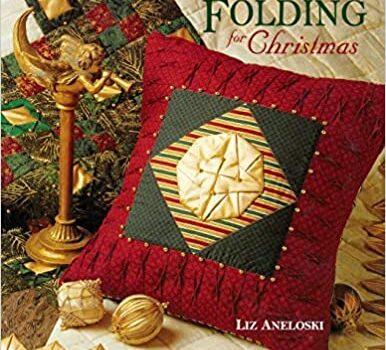 Simple Fabric Folding for Christmas